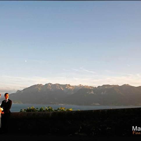 Mariage iranien au bord du Lac de Genève