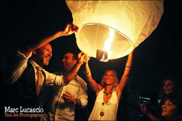 Dubaï photo lanterne magique mariage