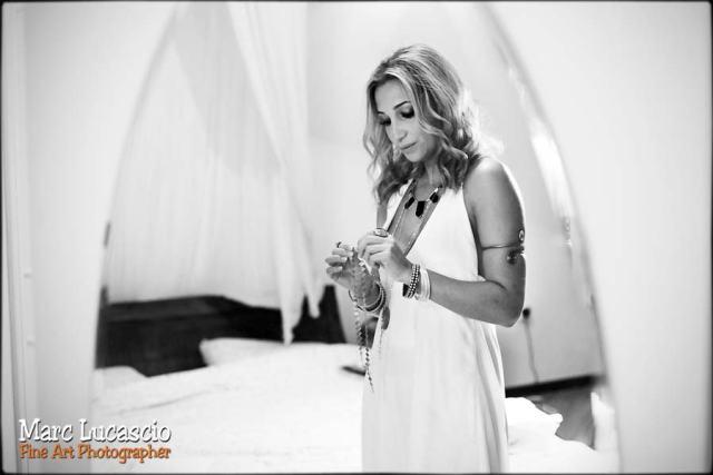 Dubaï photo préparation mariée