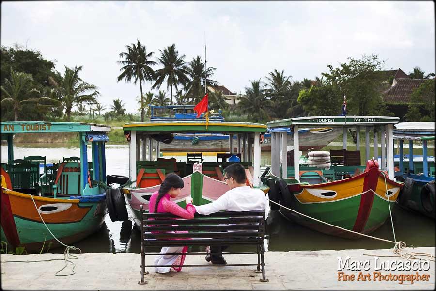 mariage Vietnam port de pêche