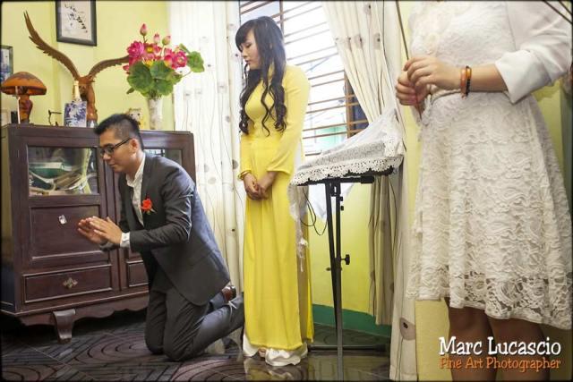 photo bouddhiste mariage Vietnam