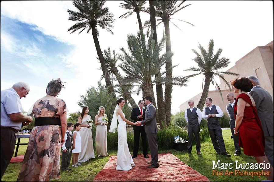 Cérémonie religieuse Riad Marrakech