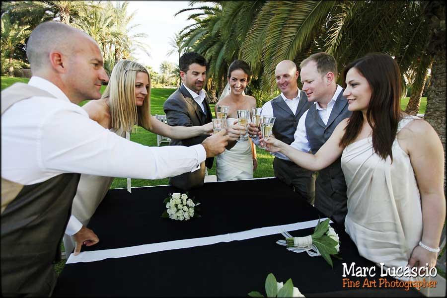 Mariage Marrakech champagne