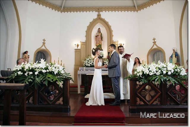 Mariage cérémonie religieuse à Rio de Janeiro