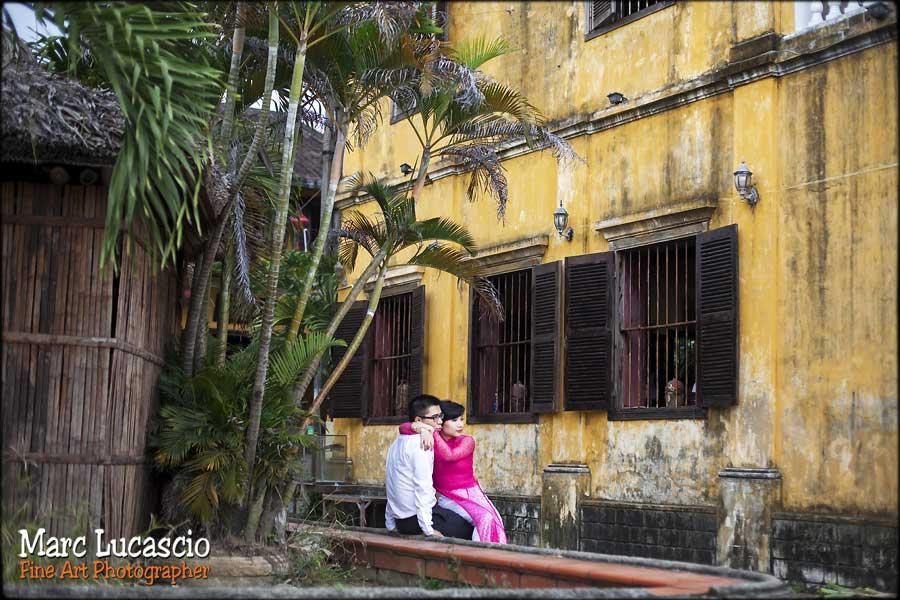 photographe mariage Vietnam maison coloniale