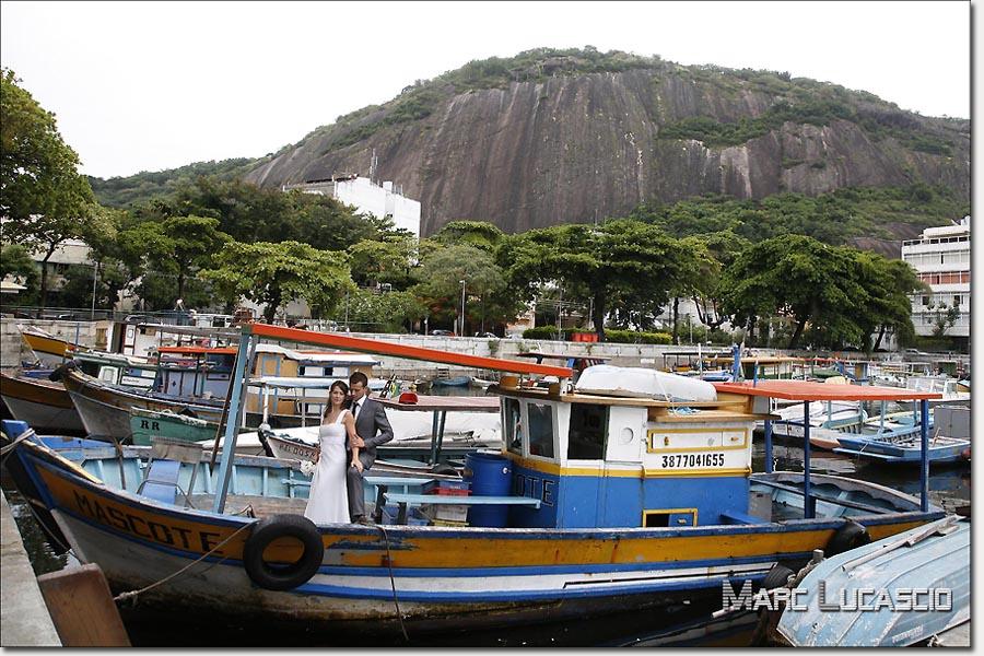 Port de de pêche à Rio de Janeiro