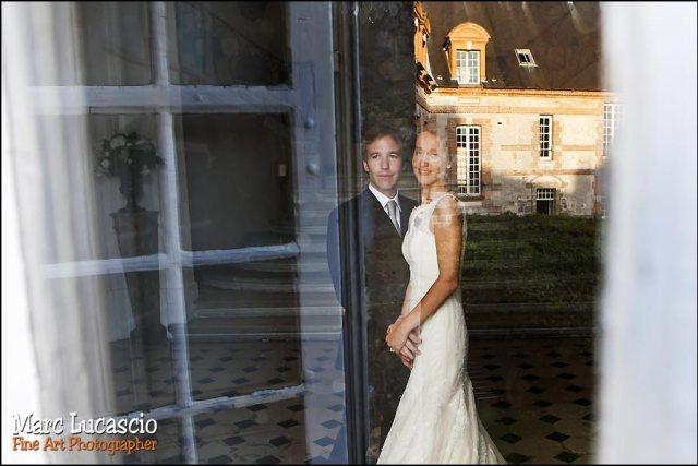 Artiste marc Lucas mariage château de Neuville