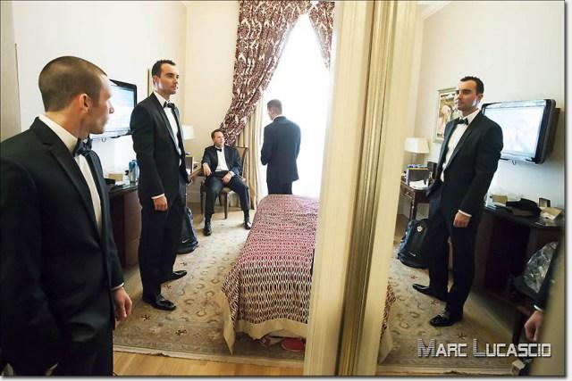 marié témoins chambre Pera Palace