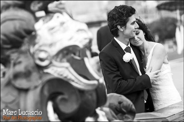 mariage photo paris pont alexandre III