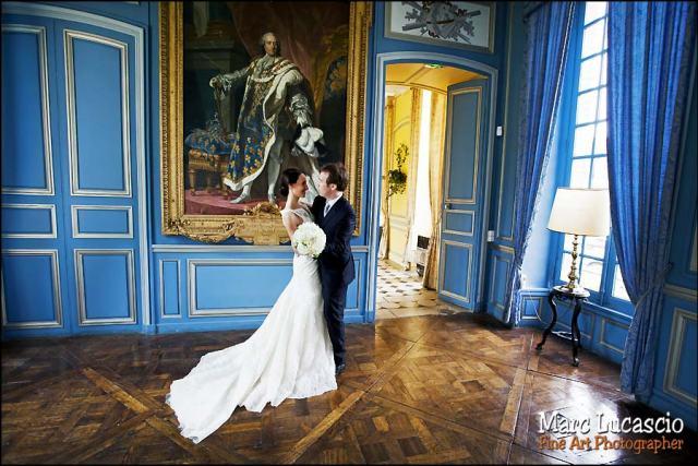 photos de couple salon bleu Neuville