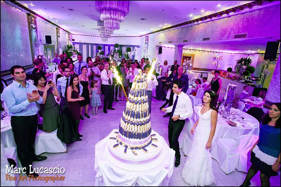 photo gâteau mariage salons hoche paris