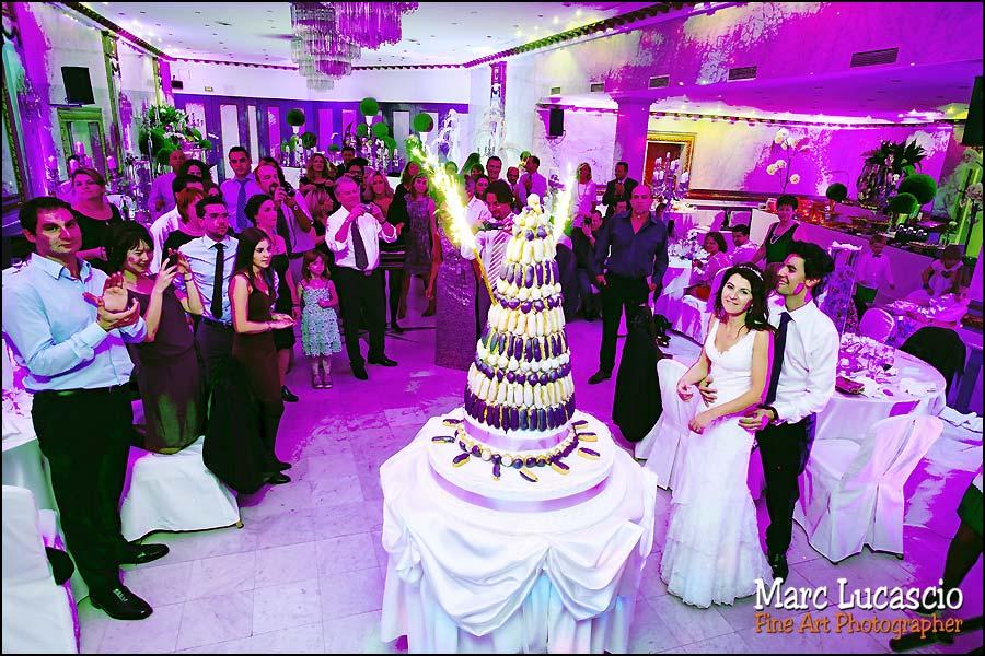 photo mariage gâteau salons hoche paris
