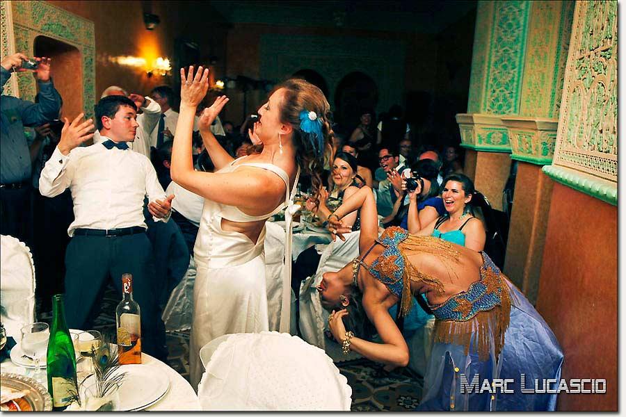 Soirée mariage orientale Maroc Tanger