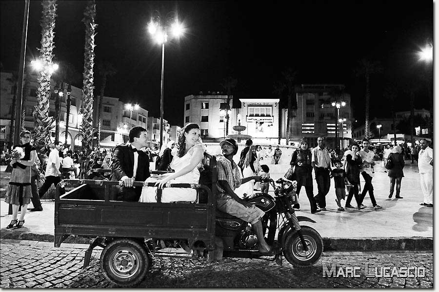 Photo de couple à Tanger.