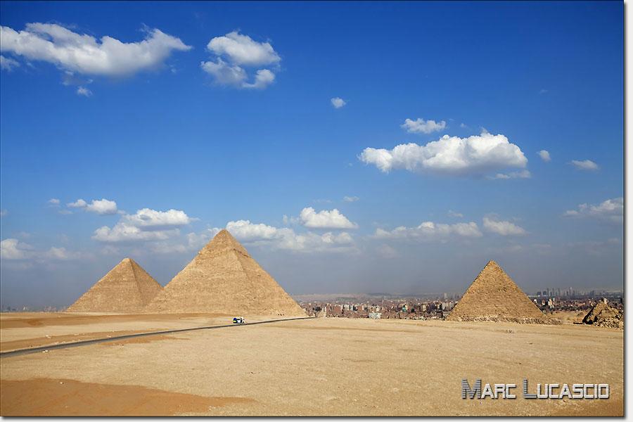 Pyramides de Gizeh photos au caire
