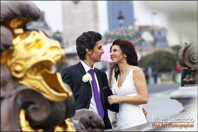 photographe mariage paris pont alexandre