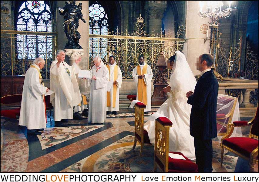 notre dame de paris photo mariage