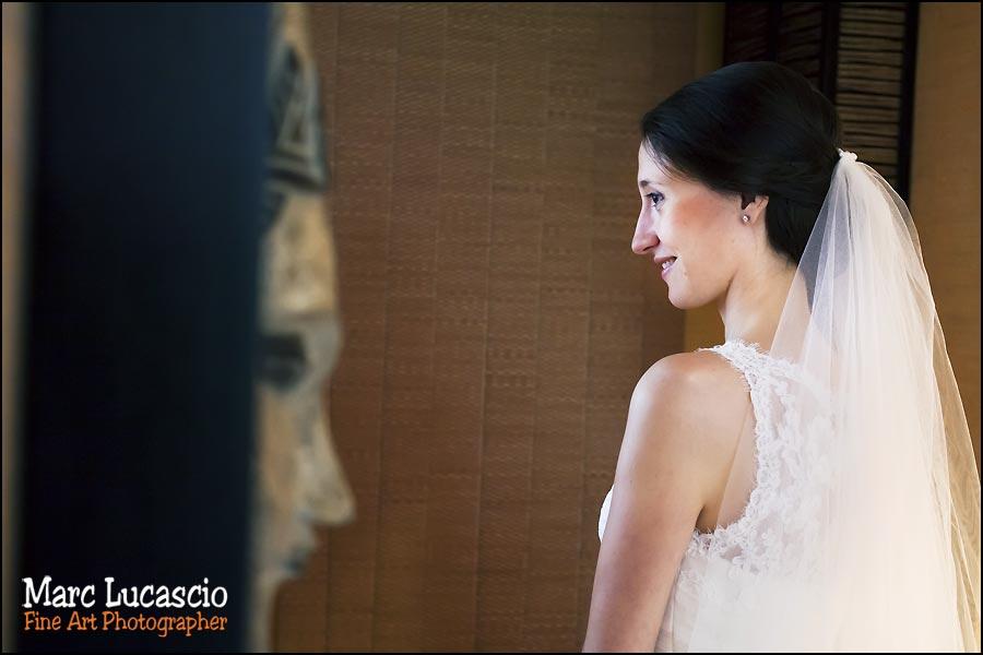 robe de mariage préparation