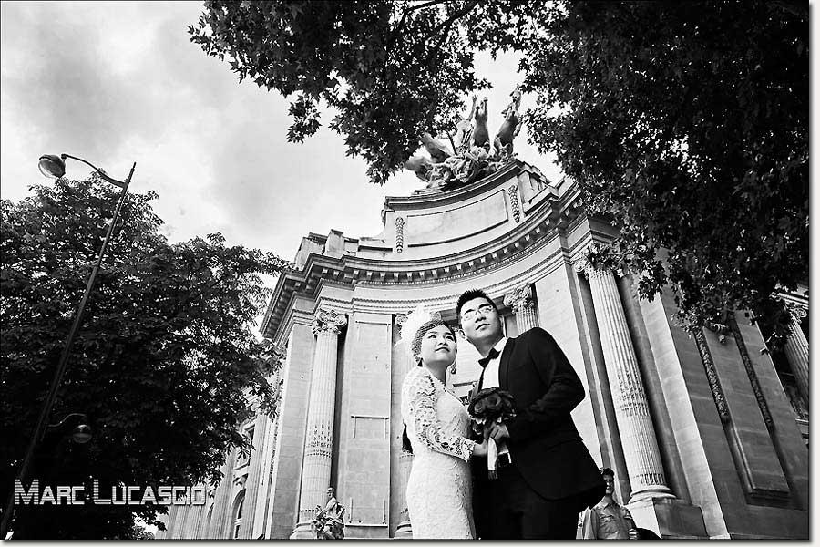 Un pre-wedding shooté à Paris