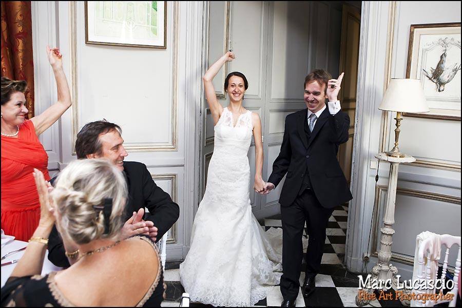 soirée mariage château de Neuville