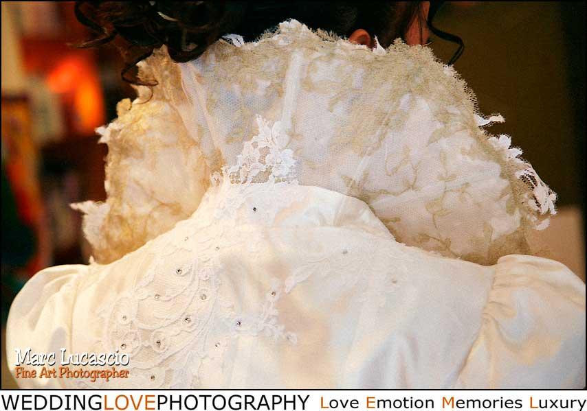 Léa Madeleine célèbre créatrice de robe de mariage