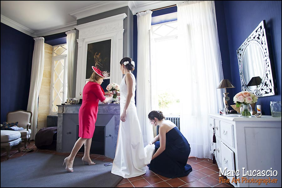 mariage chateau soulac preparation