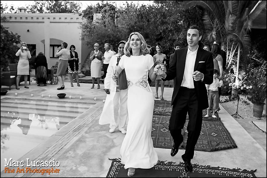 Cocktail photo mariage Marrakech