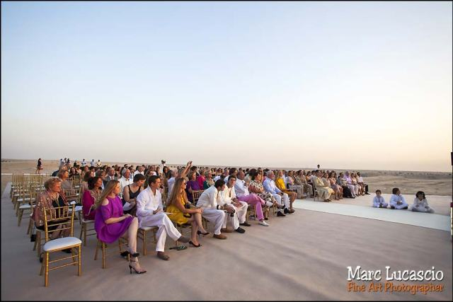 Bab al Shams invités mariage