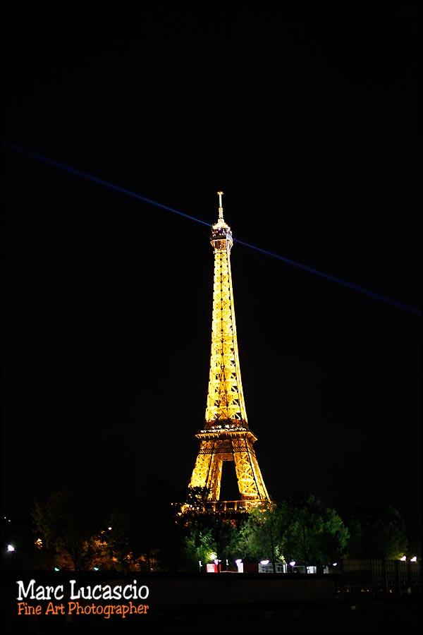 La Tour Eiffel mariage americain