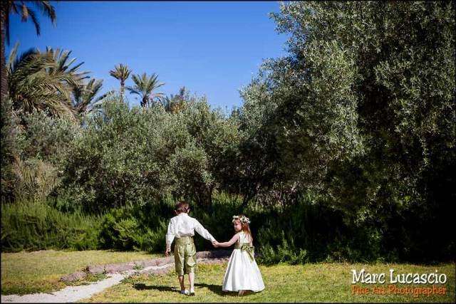 Mariage Marrakech enfants
