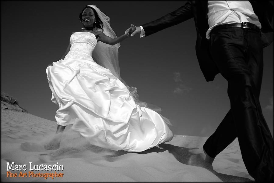 Photos trash the dress artistique
