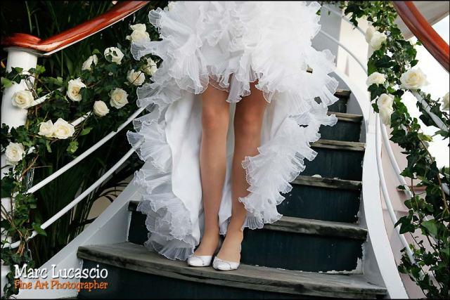 photos mariage péniche paris