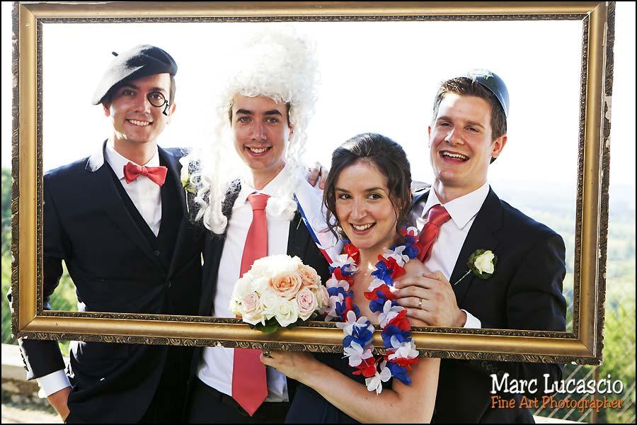 photo booth temoins mariage saint emilion