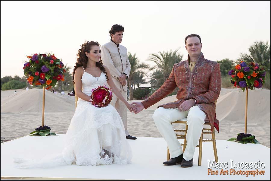 Bab al Shams cérémonie mariage desert