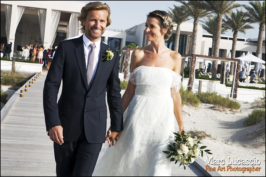 Abu Dhabi wedding couple