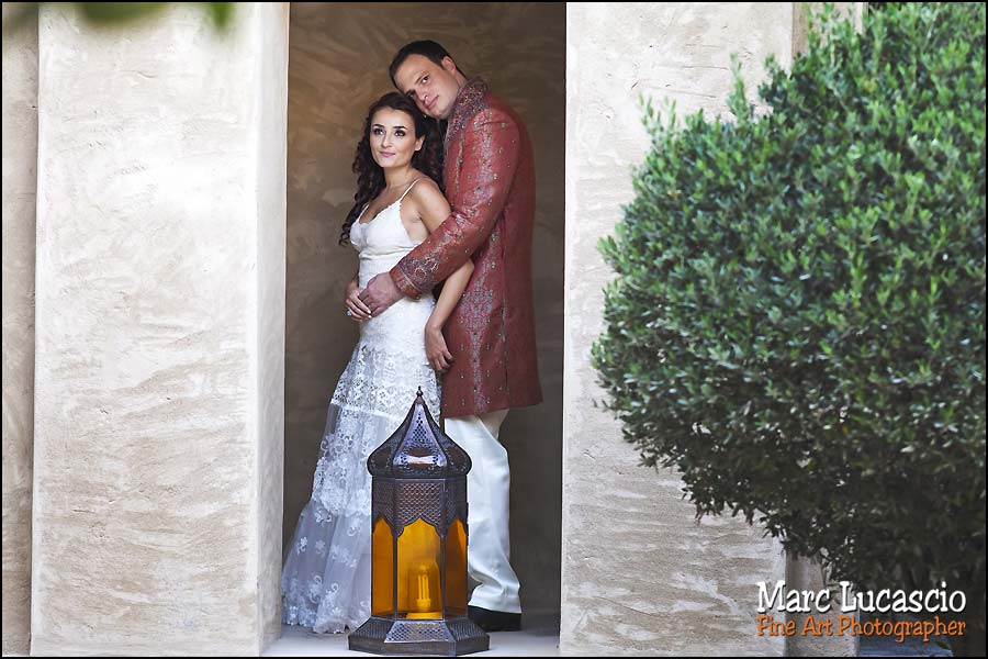 Bab al Shams dubaï couple mariés