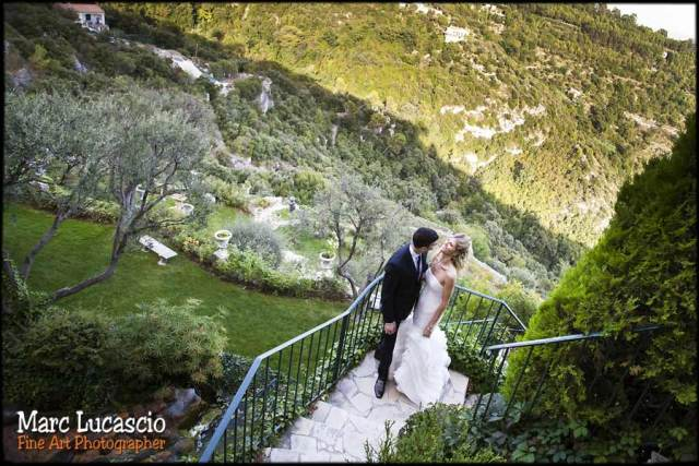 photo mariage cote d'azur la chevre d'or