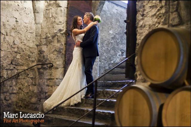 mariage couple chai château de chillon