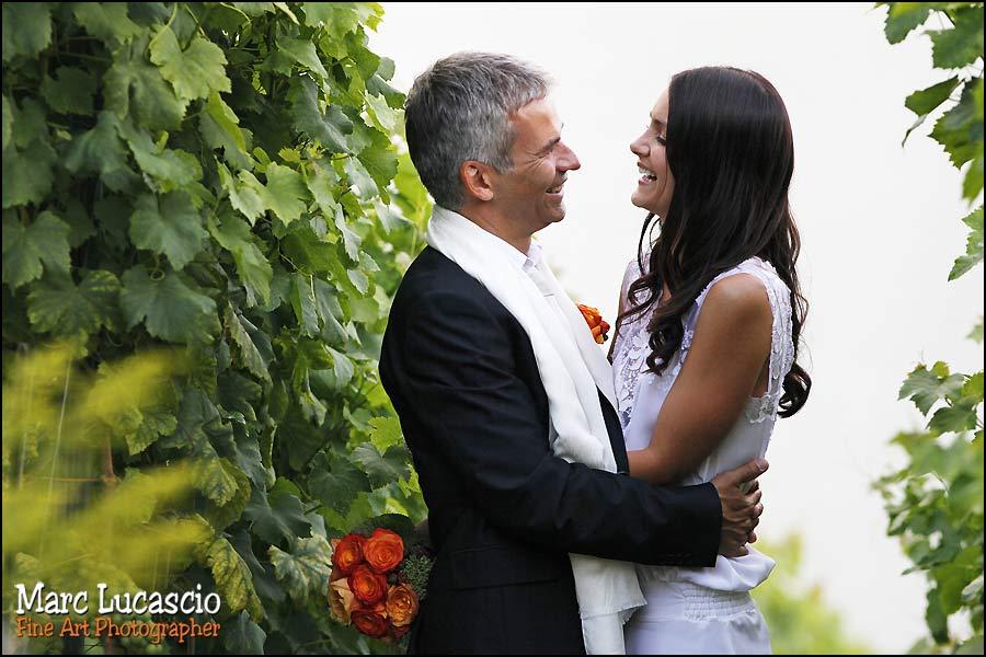 photo mariage couple lavaux vignes
