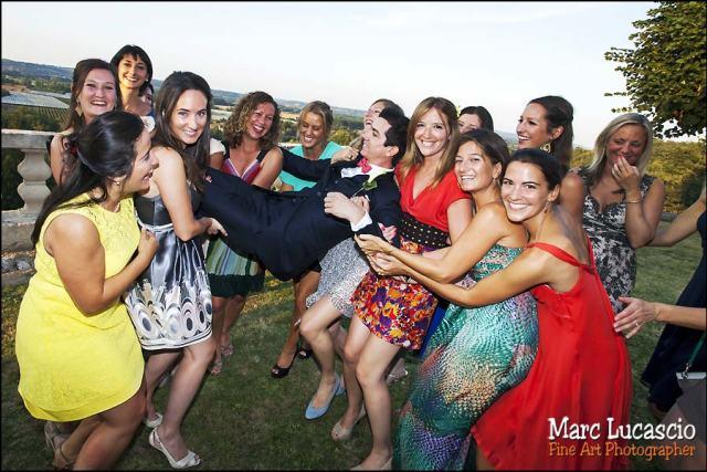 photo mariage groupe fille saint emilion