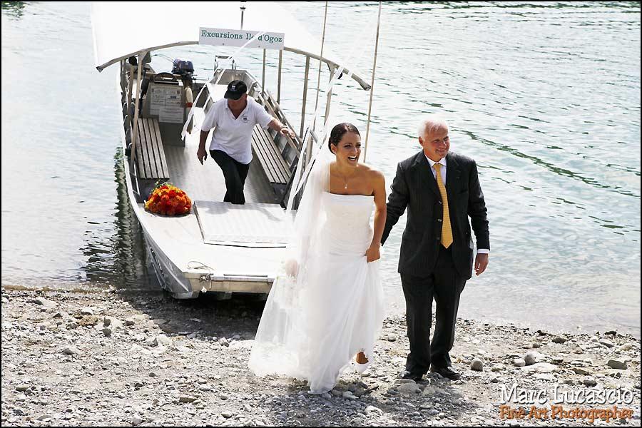 photo mariage île d'ogoz