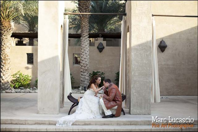 Bab al Shams splendide photo couple