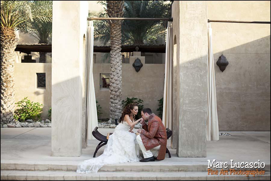Bab al Shams splendide photo couple