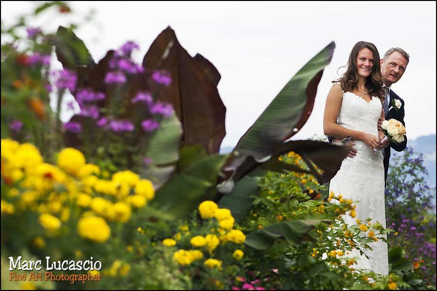 mariage Montreux couple fleur