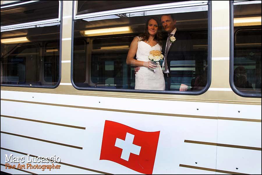 mariage Montreux petit train