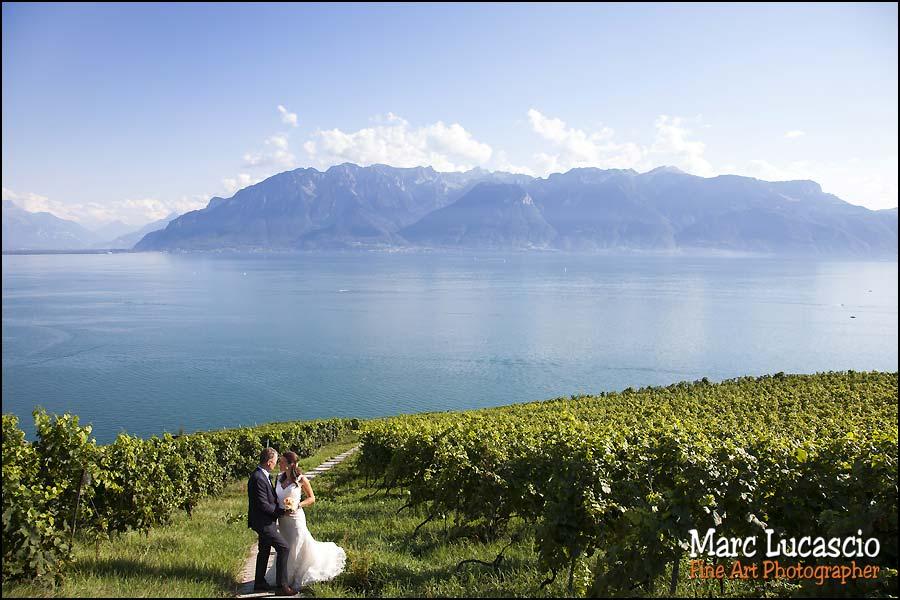 photo mariage montreux vigne du lavaux