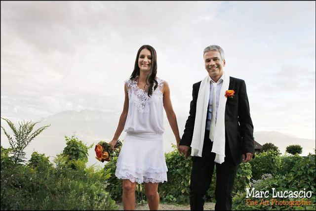 photo mariage portrait couple lavaux