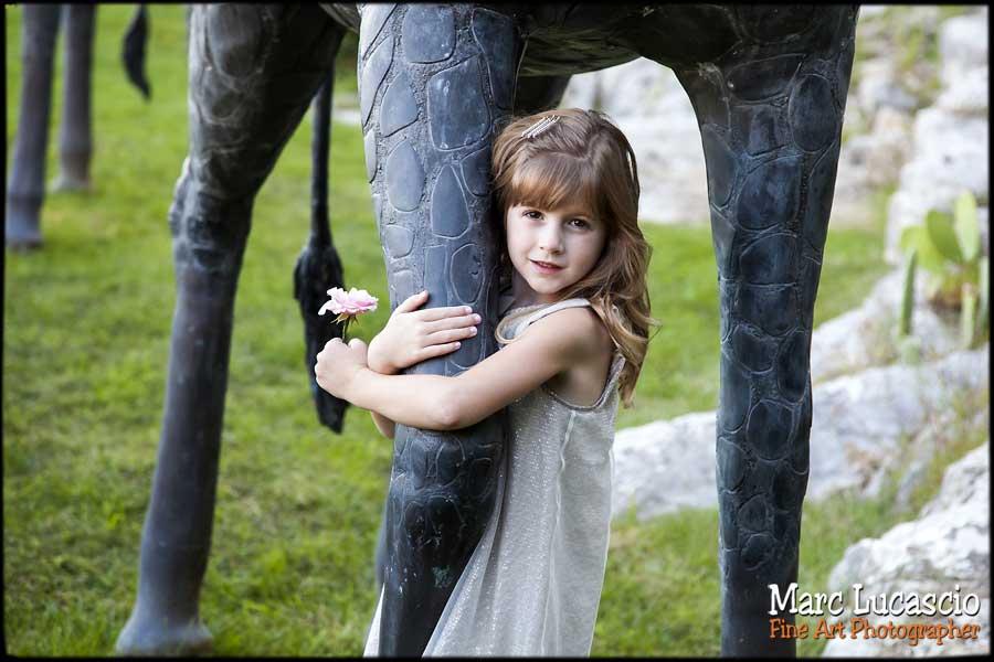 photo portrait enfant couleur