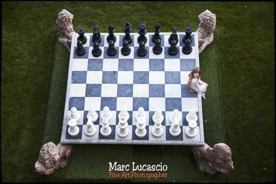 photos portrait d' enfant jeu d'échec