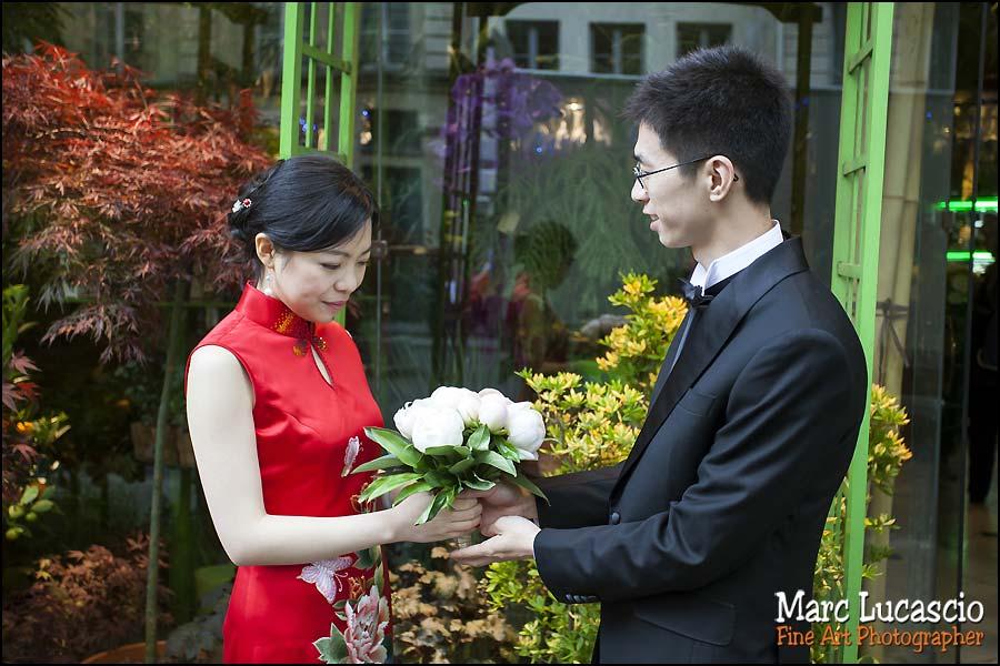 Quartier Beaubouprise de vue mariage